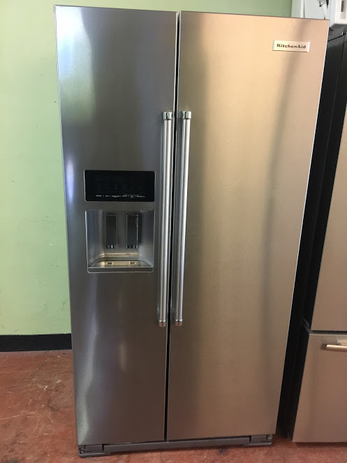Kitchen Aid Stainless fridge used